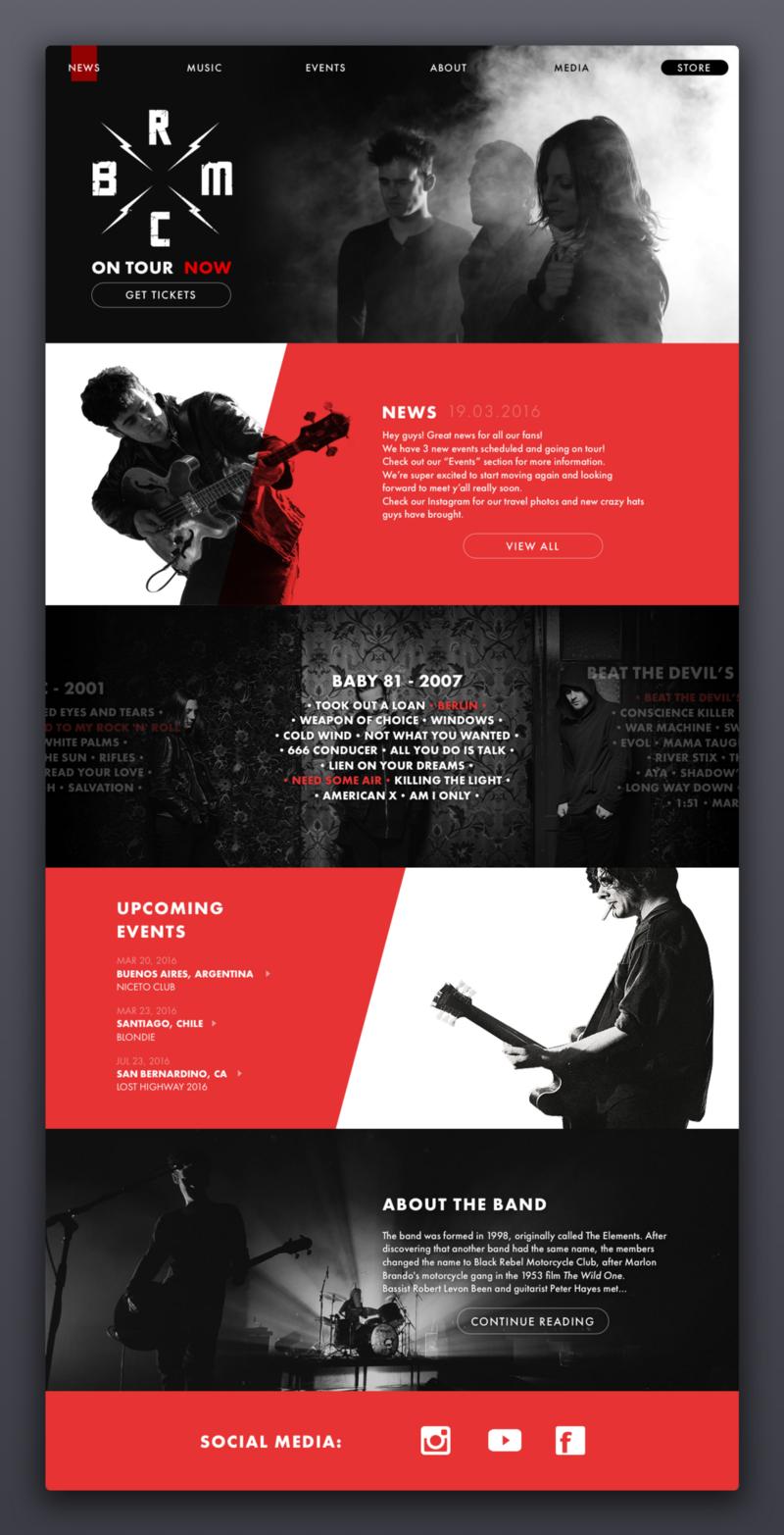 Knost设计的网站着陆页