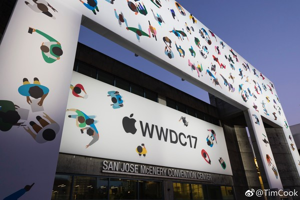 苹果WWDC2017开发者大会现场直播